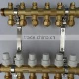 2015 hot selling brass water manifold for under floor heating system Chinese patent product