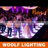 Good portable led starlit dance floor used dance floor for sale dmx led dance floor panels