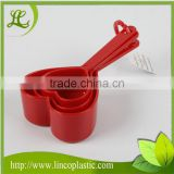 Plastic Heart Shape Measuring Spoon