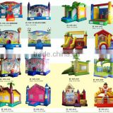 (HD-9602)inflatable moonwalk / inflatable mini combo jumper/ inflatable slide bouncer combo inflatable water games