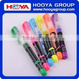ST33355 Colorful School Supplier Multi Colored Highlighter Pen