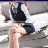 2015 hot sale ladies office uniform skirts uniform design for office staff