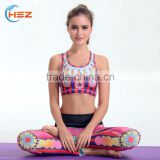 HSZ-YD46003 Good Quality 2017 Latest Design Tights Yoga Pants Woman Leggings Tank Top Gym Brazilian Fitness Apparel Sport Wear