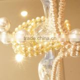 High quality and High-grade Red Pearls for Jewelry use , Plastic/Glass/Shell base also available