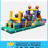 Inflatable football/baseball playground/inflatable sport toys
