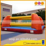 AOQI new design outdoor interactive inflatable boxing ring game for adults