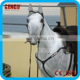 Amusement park high quality walking lifesize horse model