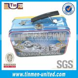 Large High Quality Tin Lunch Box