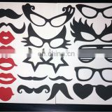 19pcs Photo Booth Props Glasses Mustache On A Stick Wedding Birthday Party Fun