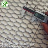 Industrial expanded metal mesh for wall cladding