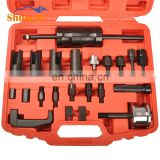Diesel truck engine Injector Nozzle Removal Puller tool full set for BOSH DENSO SIEMENS DEL-PHI