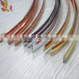 hot sell shiny all color PVC laminated sealing edge strip with good price