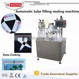 Plastic Tube And Laminated Tube Ultrasonic Filling And Sealing Machinery By Automatically