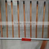 DC Copper Coated Hollow Core Gouging Rods / Carbon Electrode                                                                         Quality Choice