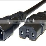 IEC320 C13 to C14ale to Female Power Cord 10A/250C
