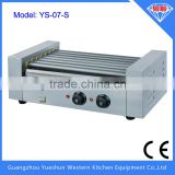professional electric rolling hot dog grill ce approved