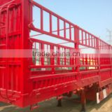 used 11m Howo container flatbed truck trailer / cheap low flatbed trailer in Shanghai