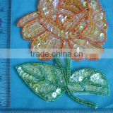 Sequin Applique Patch, Sewing Notions, Crafts Sequin for wedding dresses, Skirts, Blouses
