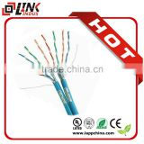 China pull box full copper utp systimax cat 6 ethernet cable bulk double shield