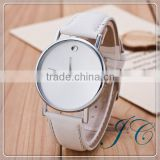 2015 China Watch Factory Stainless Steel Unisex Watch Slim Stone Watch