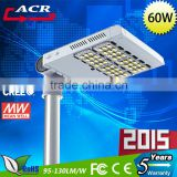 Hot selling!!! hot new products for 2015 design 60w aluminum led street light with Toughened Glass