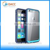 Wholesale alibaba for iPhone 6 Plus Case,Clear pc tpu Bumper Protective Hybrid Case for iphone 6