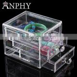 C81 ANPHY 3 Drawers Acrylic Organizer Large makeup Assorted Storage Box Jewelry Finding box