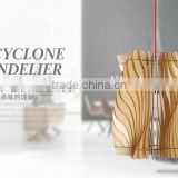 LED pendant Light JK-8005B-28 2016 Hot Sale Popular Classic Simple Creative Decorative Modern Wood Suspension Pendant Lamp Moder