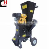 196cc petrol garden shredder chipper