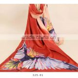 winter warm ladies scarf manufacturer digital printed animal patterned brush acrylic supersize shawl, pashmina shawl and scarf                                                                                                         Supplier's Choice