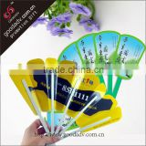 Summer necessity chinese personalized hand fan plastic hand held fans