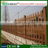 Wood plastic composite fence and wall panel for Innovative decorative outdoor handrails and fences
