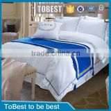 ToBest Hotel bedding 5 star Hotel linen Egyptian Cotton Bed Linen Quilt cover                                                                         Quality Choice