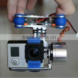 Phantom Gopro Brushless Camera Gimbal w/Motors &Controller for Aerial movie Y00044
