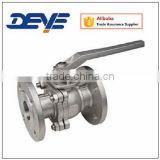 API Cast Steel A216WCB or Stainless Steel Ball Valve With Flange Ends ANSI 150LB 300LB 600LB