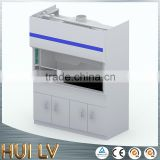 CE ISO TUV certificated PP and stainless steel chemistry laboratory furniture equipment fume cupboards