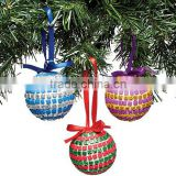 PVC Box Set Attractive Shiny Discotheque Christmas Tree Hanging Ball