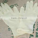 Good quality latex examination glove disposable glove powder medical glove