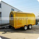2014 Firm Structure POP Style Mobile White Rabbit Candy Floss Sweet Food Carts Unit XR-FC350 D