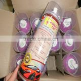 Fashion Candy Colorful 400ML Removable Aerosol Paint For Tire Rubber