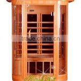ETL/CE/ROHS Approved Infrared Sauna for 2 Person, Popular Far Infrared Sauna for 2 person