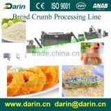 Double screw extruder panko Bread crumb process line extruder machine