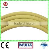 Braid fabric compressed air hose with wrapped cover