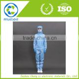 ESD cleanroom garment/0.25mm gridding fabric/good antistatic effect                                                                         Quality Choice