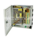 Transformer power supply, 12v 180w constant voltage power supply for CCTV camera security components