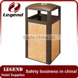 Hot bin ground ash barrel for sale