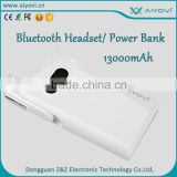 Best quality power bank with bluetooth 4.0 speaker built in cable