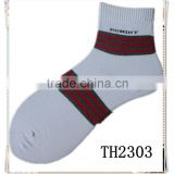 latest design new arrival hot selling thin sport sock