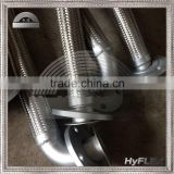INquiry about Braided Pump Connector / Flexible Metal Hose with 90 Degree Elbow