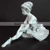 Hot Sale Elegant Dancing Little Girl Garden Statue For Decoration